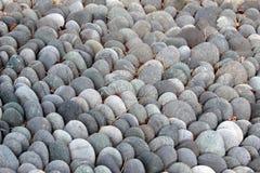 光滑的岩石背景 免版税图库摄影