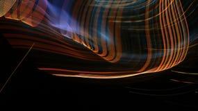 光滑的技术灯光管制线背景 图库摄影