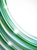 光滑的波浪, coporate企业小册子身分设计 免版税库存图片