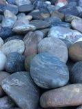 光滑的石头岩石 免版税库存照片