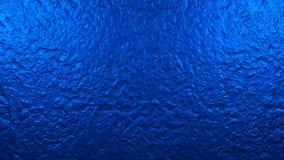 光滑的蓝色墙壁 图象例证 3d翻译 背景 纹理 免版税库存照片