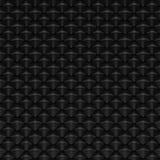 光滑的黑抽象冷杉球果或标度-方形的纹理 库存照片