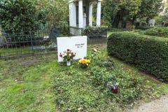 克丽斯塔Wolf坟墓老Dorotheenstaedtischer的Friedhof 免版税库存图片