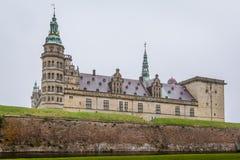 克伦堡哈姆雷特城堡  免版税图库摄影