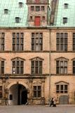 克伦堡城堡在丹麦 免版税库存照片