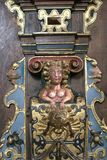 克伦堡城堡在丹麦 库存照片