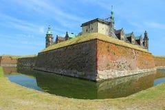 克伦堡城堡在丹麦 免版税库存图片