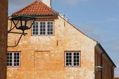 克伦堡城堡的议院 免版税库存图片