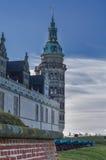 克伦堡城堡,丹麦塔  库存照片