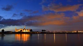 克伦堡城堡,丹麦赫尔新哥 免版税库存图片