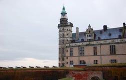 克伦堡城堡,丹麦 免版税库存图片