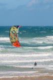 克伦的Brakrivier风帆冲浪者 免版税库存图片