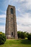 贝克公园纪念钟琴钟楼-弗雷德里克,马里兰 免版税库存照片