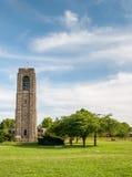 贝克公园纪念钟琴钟楼-弗雷德里克,马里兰 免版税库存图片
