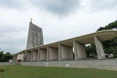克兰芝战争公墓,新加坡 免版税图库摄影