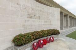 克兰芝战争公墓,新加坡 免版税库存图片
