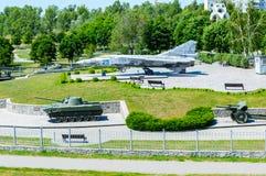 克列缅丘格,波尔塔瓦地区,乌克兰- 2017年6月05日:公园Myru 免版税库存图片