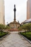 克利夫兰广场的看法,俄亥俄,美国 免版税库存图片