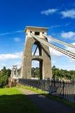 克利夫顿吊桥,布里斯托尔, Avon,英国,英国 免版税库存图片