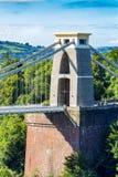 克利夫顿吊桥,布里斯托尔, Avon,英国,英国 图库摄影