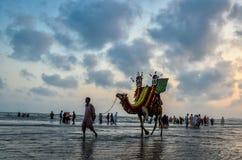 克利夫顿海滩卡拉奇巴基斯坦 库存照片