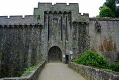 克利松城堡南特法国 库存照片