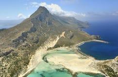 克利特gramvousa海岛半岛 免版税库存图片