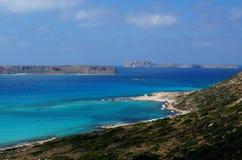 克利特gramvousa海岛 库存图片
