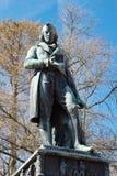 克劳德路易斯Berthollet雕象在阿讷西,法国 免版税库存图片