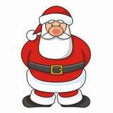 克劳斯・圣诞老人向量 图库摄影