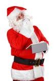 克劳斯・圣诞老人认为 免版税库存照片