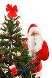 克劳斯・圣诞老人shhhhhh 免版税库存图片
