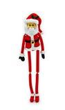 克劳斯・皮包骨头的圣诞老人 免版税库存照片