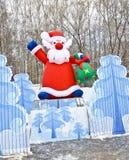 克劳斯・莫斯科圣诞老人 免版税库存图片