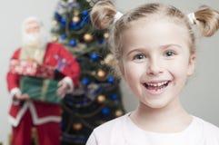 克劳斯以后的圣诞老人 图库摄影