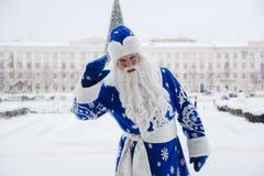 克劳斯俄语圣诞老人 库存照片