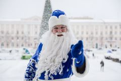 克劳斯俄语圣诞老人 免版税库存照片