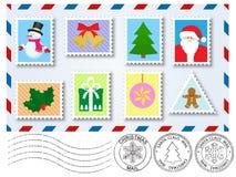 克劳斯信函圣诞老人 免版税图库摄影