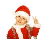 克劳斯小圣诞老人 库存照片