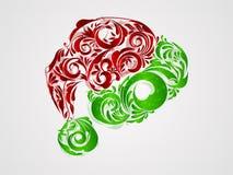 克劳斯帽子红色圣诞老人白色 免版税库存图片