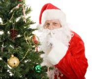 克劳斯平静的圣诞老人 库存照片