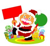 克劳斯愉快的圣诞老人 免版税库存照片