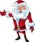 克劳斯新的介绍圣诞老人年 库存照片