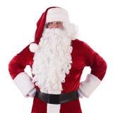 克劳斯查出圣诞老人 免版税图库摄影