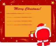 克劳斯框架圣诞老人 库存照片