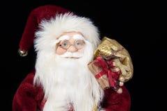 克劳斯特写镜头纵向圣诞老人 免版税库存照片