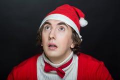 克劳斯疯狂的圣诞老人 免版税库存图片