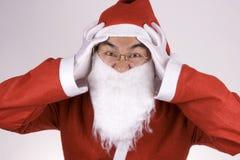 克劳斯疯狂的圣诞老人 免版税库存照片