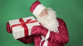 克劳斯礼品圣诞老人 影视素材
