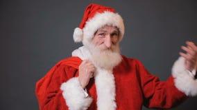 克劳斯纵向圣诞老人 影视素材